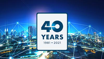 2021年里程碑图像40年