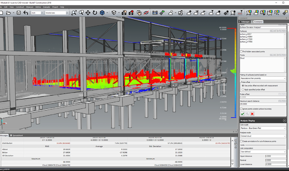 FARO Scan to CAD analysis software