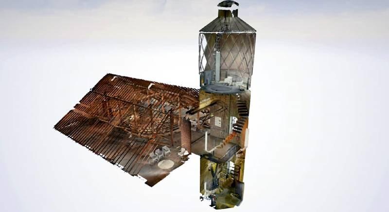 London Lighthouse 3D Model