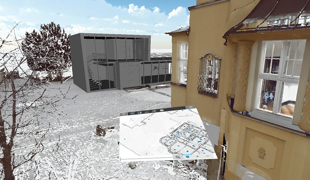 FARO Scene with VR