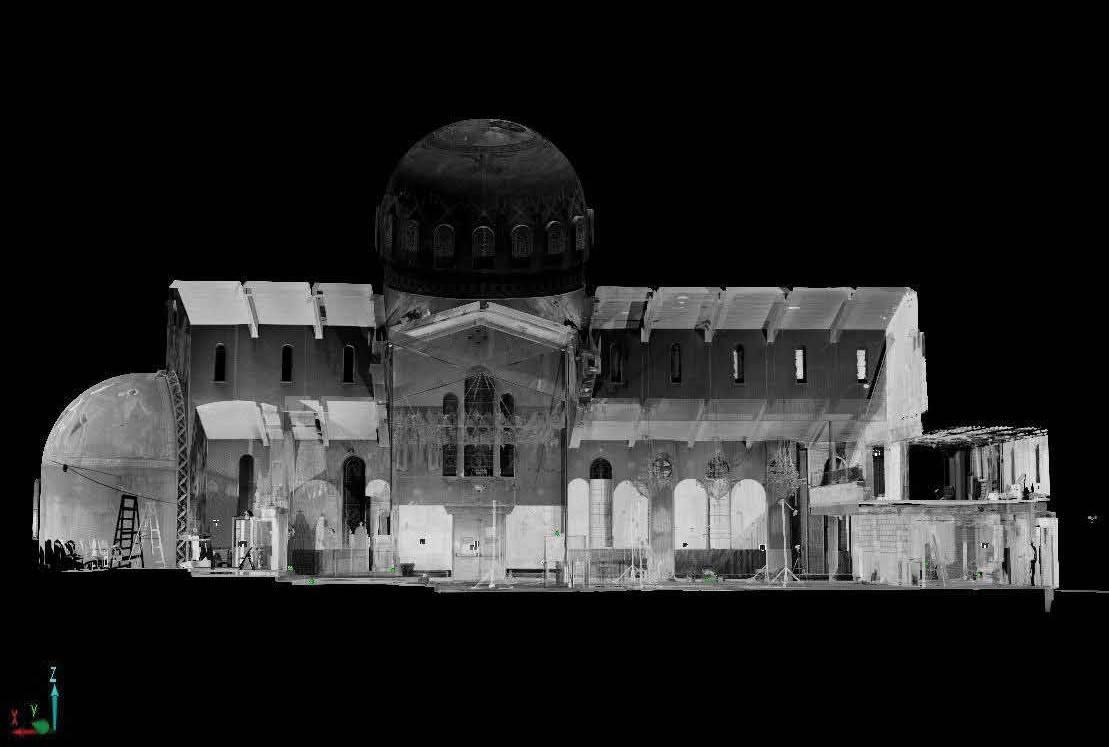 Church 3D render