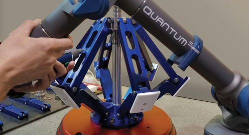 Boeing Supplier of the Year wins jobs with Quantum S FaroArm PART 1