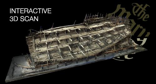 Interactive-scan-maary-rose-ship-sketchfab