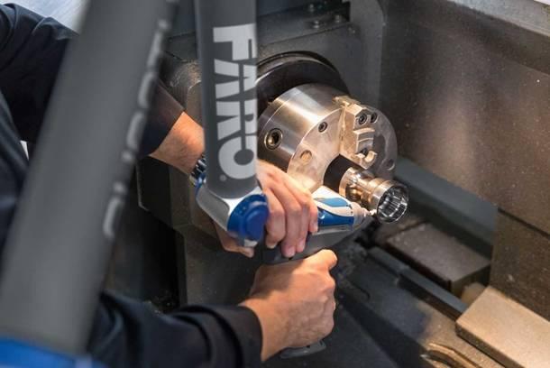AM Quantum FaroArm Machining inspection FM Aplication Reduced
