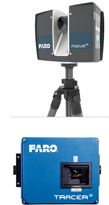 Focus M Laser Scanner & Tracer SI Laser Projector