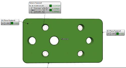Fig1 Hole Pattern