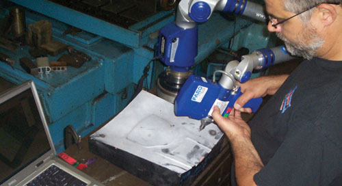 Debco Tool  Die cuts inspection time in half with FARO ScanArm