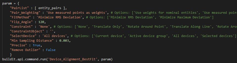 BuildIT Metrology Python