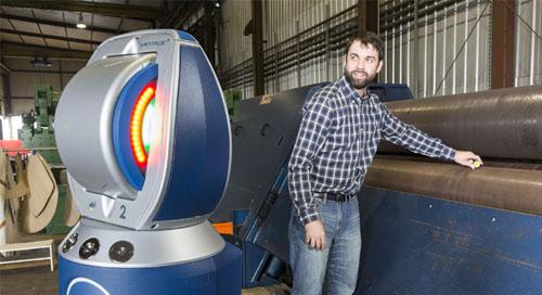 Precision machine alignment using Laser Tracker  BuildIT Metrology