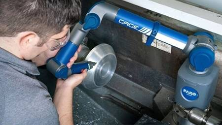 Using a Gage FaroArm for On-Machine Inspection